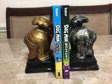 Lot Of 2 Dog Man Hard Cover Children's Books (B1)
