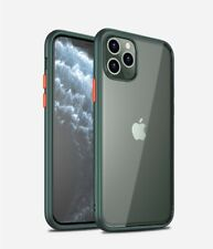 For iPhone11 Pro Max Clear Matt Case Ultra Slim Hybrid Shockproof Bumper Cover
