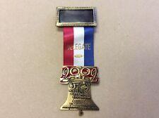 "63rd NALC Biennial Convention ""DELEGATE"" Medal/Pinback, 2002 Philadelphia"