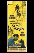 THE WORLD OF SUZIE WONG Movie POSTER 11x17 William Holden Nancy Kwan Sylvia Syms