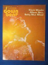 DOWN BEAT MAGAZINE SEPTEMBER 12 1974 STEVIE WONDER ALLMAN BROS BOBBY BLUE BLAND
