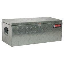 Rhino 780 x 355 x 305mm Checkerplate Tool Box