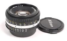 Nikon 50mm F1.8 Series E (AIS) Lens - MINT