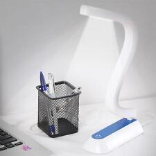 Rechargeable Solar LED USB Desk Table Beside Bed Lamp Light Reading Gift