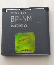 100% Genuine Originale Nokia 5610 5700 6110 6220 6500 7390 8600 BP-5M BATTERIA