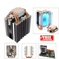 LED CPU Cooler Fan Heatsink 4-Heatpipe Radiator for Intel LGA 775 1150 1151 1156