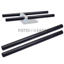 2X 2 pièces 15mm Dia Rod Longueur 250mm for Rail Système Matte Box Follow Focus