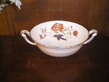 Excellent Royal Crown Derby BALI twin handled SOUP CUPS/BOWLS - look unused