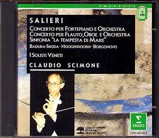 Claudio Scimone Salieri pianoforte Flute Concerto la tempesta di mare Badura-Skoda CD
