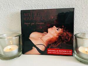 Mylene Farmer Avant que l'ombre Coffret 2CD avec Instrumentaux Neuf sous Blister