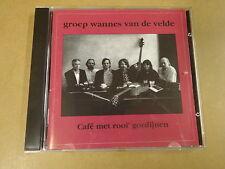 CD / GROEP WANNES VAN DE VELDE - CAFE MET ROOI GORDIJNEN