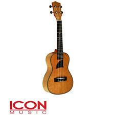 Eddy Finn EF16C Concert Size Ukulele, Lacewood, High Gloss,