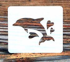 DELFINO CUORI Face Painting Stencil 6 CM x 7 cm 190 µ lavabile riutilizzabile