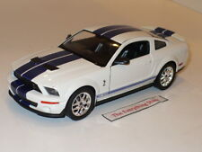 Welly 2007 Ford Shelby Mustang Gt-500 1:24 White No Box 22473 Free Ship