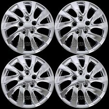 "fits Hyundai Elantra 2011-2018 Chrome 16"" Bolt On Wheel Covers Full Rim Hub Caps"