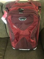 NWT Osprey Hybrid Backpack Rolling Carry On