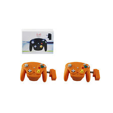 Mengenangebot Of 10 GameCube orange kabellos welle Controller Polster Hexir (