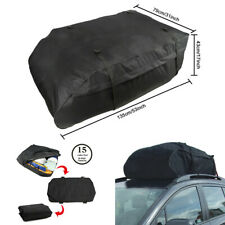 Waterproof Car SUV Roof Bag 15 Cubic Feet Roof Top Luggage Cargo Carrier Bag Box