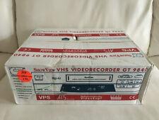 GT 9840 VHS-video recorder NUOVO in OVP NEW, 2 ANNI GARANZIA