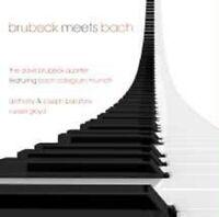 "DAVID BRUBECK ""BRUBECK MEETS BACH"" 2 CD NEW"
