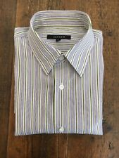 JAEGER MEN'S SHIRT STRIPED SIZE M REG FIT 100% COTTON 15.5 Neck 40/42 Chest
