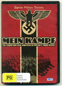 MEIN KAMPF (1960) DVD Documentary Adolf Hitler: Rise and Ruin of the Third Reich