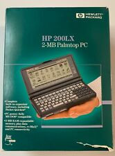 New listing Hp 200Lx 2-Mb Palmtop Pc   Excellent Condition   Original Packing & Manuals