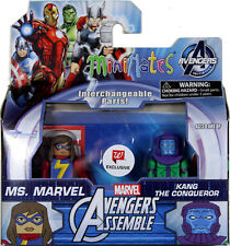Marvel Minimates ~ MS. MARVEL (KAMALA KHAN) & KANG ACTION FIGURE SET ~ DST