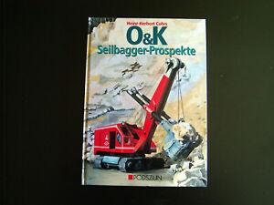 Buch,O&K Seilbagger-Prospekte,Podszun Verlag