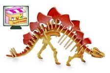 """Jouet en bois Puzzle 3D Maquette """"Stégosaure"""""""