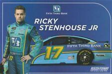 2018 Ricky Stenhouse, Jr. Fifth Third Bank Ford Fusion NASCAR MENCS postcard