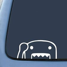 Domo peeking monster Vinyl Decal Sticker Window Car Truck Drift JDM Funny