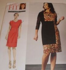 Vogue 1336 Sewing Pattern Today's Fit Betzina Misses' DRESS ~ ALL SIZES