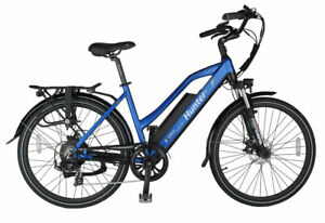 Axcess Hunter2 step-through e-bike with 36V X 10Ah or 16Ah Battery and Throttle