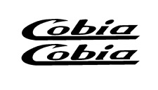 "PAIR OF 5""X28"" COBIA BOAT HULL DECALS. MARINE GRADE. YOUR COLOR CHOICE 36"
