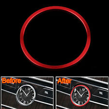Middle Console Centre Car Watch Clock Decorative Cover For C Class C180 W205 14
