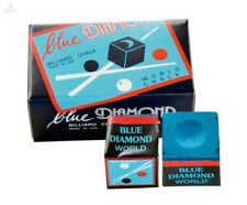 Billard Kreide  Longoni -   Blue Diamond - 2er Box