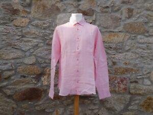 ORLEBAR BROWN.   Long sleeve shirt.   100% Linen.   BNWOT.   Size: Medium.
