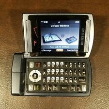 Samsung Alias SCH-U740  Grey (Verizon) V Cast Music Cell Flip Phone GC