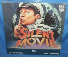 SILENT MOVIE 1976 LASERDISC CBS FOX HOME VIDEO LASER DISC