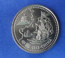 PORTUGAL 200 Escudos Gedenkmünzen 1996 KM#690  ARRIVAL IN CHINA