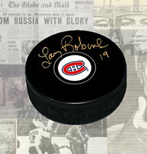 Larry Robinson Montreal Canadiens Autographed Puck