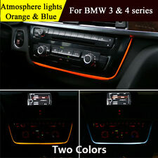 Atmosphere lamp Interior lights For BMW 3 4 series F30 Dashboard Radio FM Panel