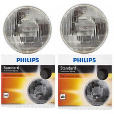 Philips High Low Beam Headlight Light Bulb for Dodge W350 Raider D350 B200 sn