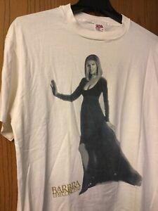 Barbra Streisand.   1994 - The Concert.  Shirt.   White.   XL.