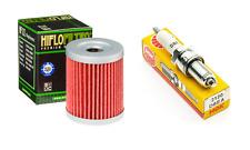 Tune up Kit Oil Filter NGK Spark Plug Suzuki LT 300 300E Quadrunner LT 250 250E