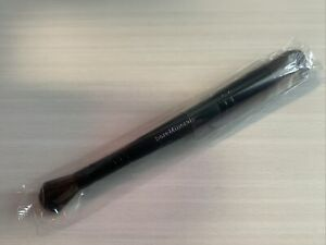 bareMinerals Double Ended Soft Focus Shadow & Blush Brush New & Sealed