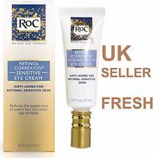 * Regno Unito * ROC Retinolo Occhio Crema sensibili CORREXION corrextion a zampa di gallina anti-invecchiamento