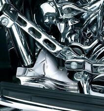 Kuryakyn Chrome Rear Mid Frame Covers Accents Harley Touring Bagger 1997-2007 FL