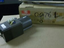 MATSUSHITA ELECTRIC    81P15GV    INDUCTION MOTOR W/ 8GP120B GEAR BOX  NATIONAL